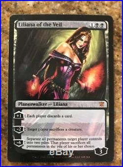 Liliana of the veil (FOIL) x1 NM Innistrad FREE SHIPPING