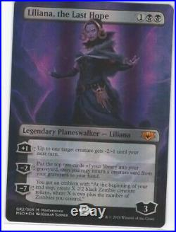 Liliana, the Last Hope Mythic Edition MINT NEVER PLAYED MTG
