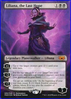 Liliana, the Last Hope Near Mint Foil Mythic Edition GR2