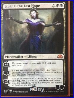 Liliana, the Last Hope x3