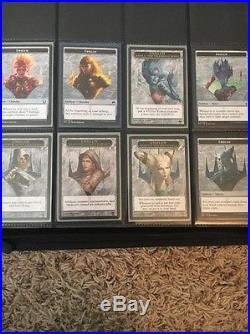 Lot Of 47 Mtg Planeswalker Cards! (Liliana Foil, Tamiyo Foil) 32 Emblems