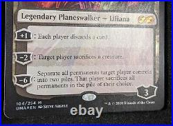 MTG 1x Foil LILIANA OF THE VEIL Ultimate Masters (NM)