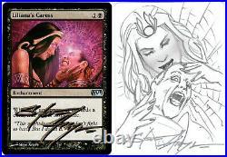 MTG Artist Proof Liliana's Caress Sketched
