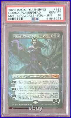 MTG Awakening the Dead, Liliana foil PSA10 Japanese Mint