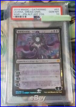 MTG FOIL Liliana, Dreadhorde General Japanese Alternate Art PSA 10 GEM MT