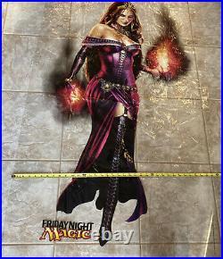 MTG LILIANA OF THE VEIL LARGE WINDOW CLING / DOOR DECAL 55x35 magic promo VHTF
