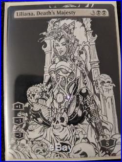 MTG Liliana, Death's Majesty Altered Sexy