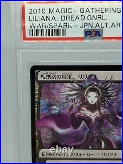 MTG Liliana, Dreadhorde General japanese PSA 9