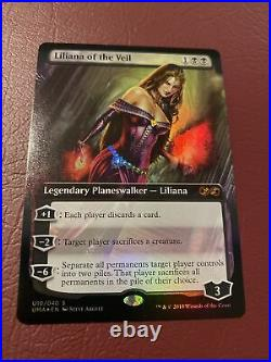 MTG Liliana Of The Veil Box Topper Foil Ultimate Masters NM