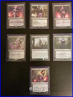 MTG Liliana / Zombie Mono Black Commander EDH Deck