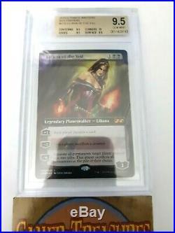 MTG Liliana of the Veil BGS 9.5 QUAD+ GEM MINT Ultimate Masters Box Topper Gold