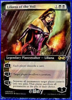 MTG Liliana of the Veil FOIL BOX TOPPER Ultimate Masters Rare! NM/M