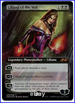 MTG Liliana of the Veil Full Art Foil x1 Ultimate Masters Box Topper