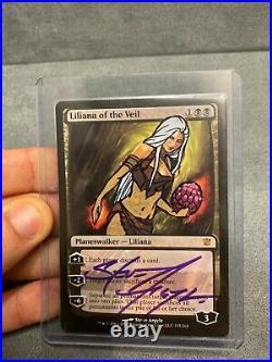 MTG Liliana of the Veil Game of Thrones Altered and Signed by Steve Argyle (GD)