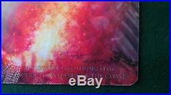 MTG Liliana of the Veil alternate art playmat signed by Steve Argyle RARE