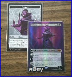 MTG Liliana, the Last Hope Mythic Edition Foil With Emblem Pack Fresh