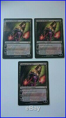 MTG Magic 3x NM/M Liliana of the Veil (Innistrad) x3