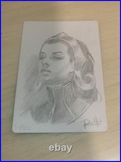 MTG Magic Liliana, Dreadhorde General SIGNED PROOF X1 Japanese Foil PWCS Sketch