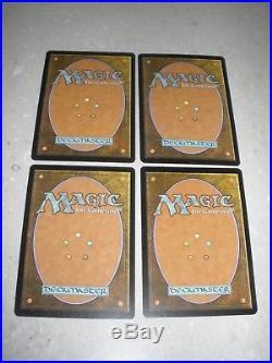 MTG Magic Liliana of the Veil x4 Innistrad LP/NM