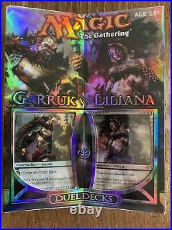 MTG Magic the Gathering Garruk vs Liliana Duel Deck New, Sealed WotC Starters