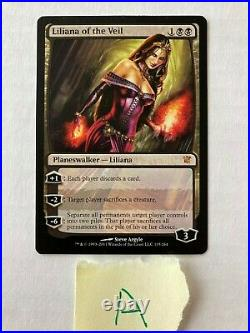 MTG, Magic the Gathering, Liliana of the Veil, Planeswalker (2 Cards)