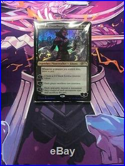 MTG Magic the Gathering Secret Lair Liliana, Dreadhorde General (Stained Glass)