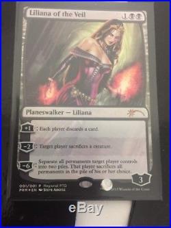 MTG X1 Liliana Of The Veil FOIL Magic The Gathering, MTG, Innistrad