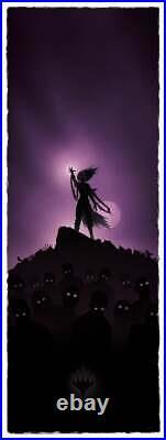 Magic the Gathering Liliana Vess Limited Fine Giclee Print Art Poster 9 x 24