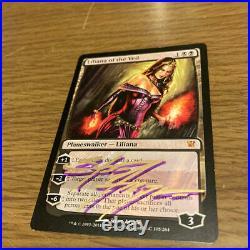 Magic the gathering Liliana/Liliana In The Veil Of English Autograph