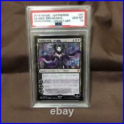 Magic the gathering Shogun Liliana PSA10 Planeswalker Trading Card Game Goods