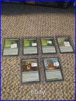 Magic the gathering collection lot, various rares, foil windswept heath SIGNED