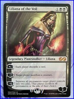 Mint/Near-Mint, English 1 x MTG Liliana of the Veil Foil Ultimate Masters