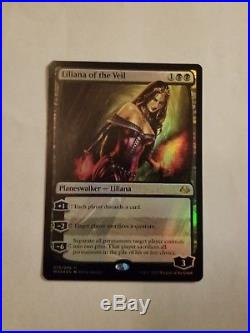 Mtg Foil Liliana of the Veil Modern Master 17
