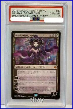 Mtg General Of The War Liliana Yoshitaka Amano Different Picture 097/264 Psa 10