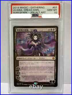 Mtg Liliana Yoshitaka Amano 097/264 Japanese Psa 10