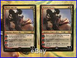 Mtg Lot Wrenn And Six Liliana Of The Veil Command Jund Deck Bloodstained Mire