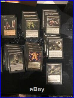 Mtg Modern 8Rack Pieces 52 Cards And 4 Foil Proxy Liliana Of The Veil
