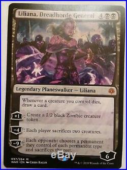 Mtg Mythic Rare Planeswalker Card Lot, Nicol Bolas, Teferi, Liliana, Athreos