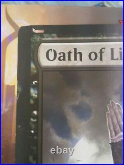Mtg Oversized Oath Of Liliana, Jace, Chandra, Nissa, Ajani, & Gideon. Set of 6