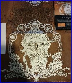 Pvramid Lady of the Veil CHASE Basilisk Skin x Platinum Foil (Russet) MTG