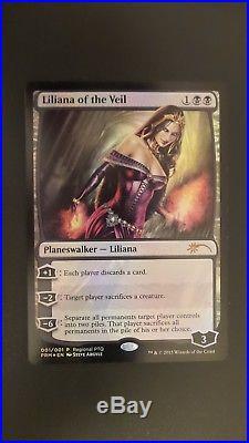 Regional PTQ Promo Liliana of the Veil (FOIL) (NM/MT!) Mtg Magic #1