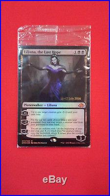 Sealed Foil Time Stamped Liliana, The Last Hope from Eldritch Moon MTG