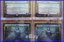 Set of 4x Liliana, the Last Hope Foil 93/205 Near Mint MTG Eldritch Moon