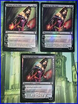 X1 Foil Liliana of the Veil (NM) Innistrad MTG Magic